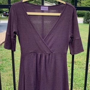Michael Stars Crossover Maternity Top  Small